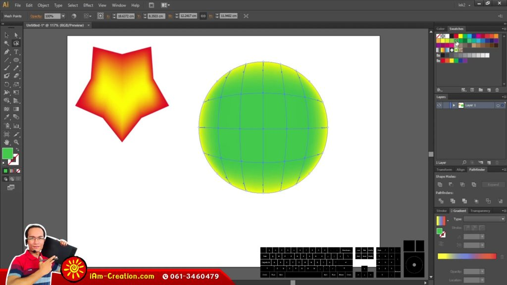 AI04 การใช้สีและการเลือกภาพ