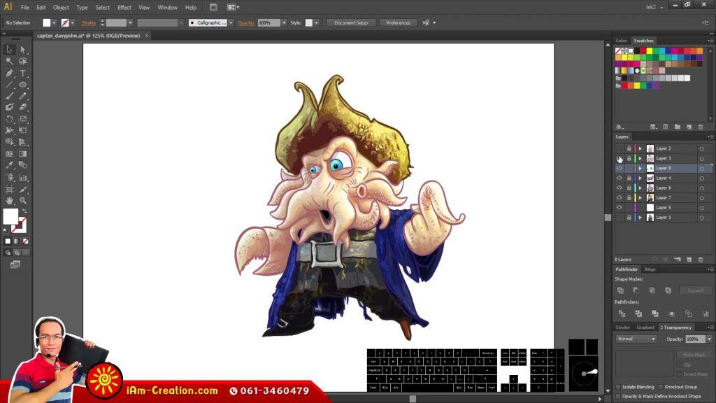 AIEX02 การวาดการ์ตูนจากรูปภาพ Part B